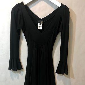Roberto Cavalli Black viscose dress